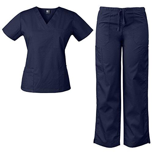 MedGear Womens Scrubs Medical Uniform