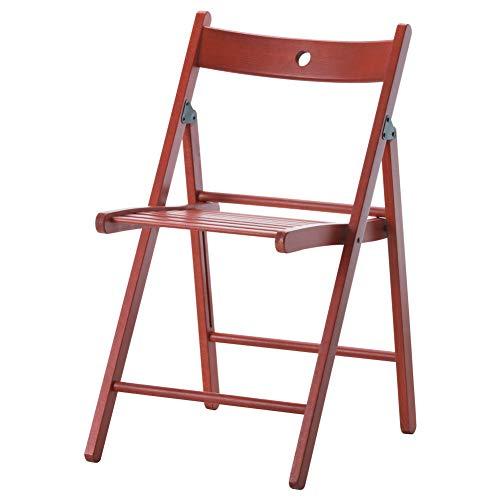 (IKEA ASIA Terje Folding Chair red )