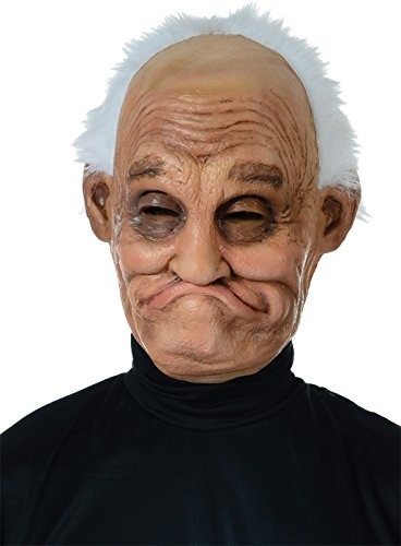 [Pappy Latex Mask Adult Accessory] (Old Man Halloween Mask)