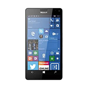 "Microsoft Lumia 950 XL RM-1085 32GB White, Single Sim, 5.7"", 20MP, 3GB Ram, Unlocked International Model, No Warranty"