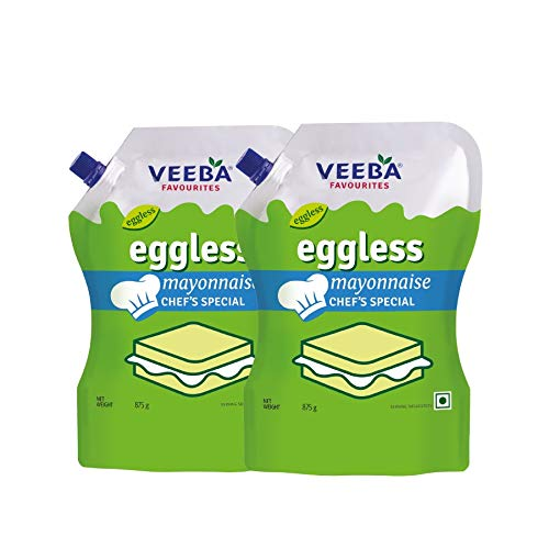 Veeba Eggless Mayonnaise Chef's Special, 875g - Pack of 2