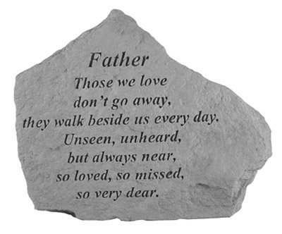 Kay Berry Memorial Stone - Father Those We Love - for Garden, Grave, Memory, -