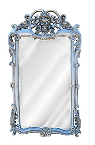 Hickory Manor House HM7038GS Flourishing Mirror/ Gilt Silver (Silver Mirror Gilt)