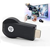Teconica Art-8 Wi-Fi Display Adapter 1080p/ HDMI Media Streaming/Airplay/DLNA/Miracast for Android,iOS & Windows Device (Assorted Colour)