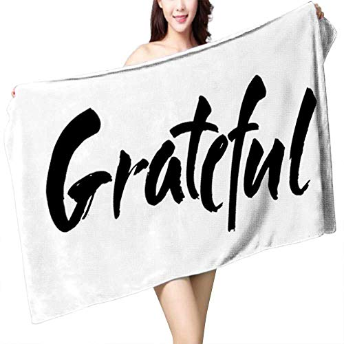 Philiphome Photo Text Image DIY Print Custom Bath,Happy Halloween Card Template 8 Beach Large Long Towel Size:55.1 x 27.6 INCH for $<!--$24.99-->