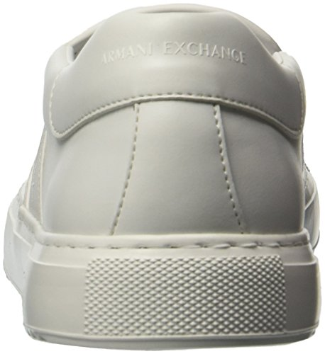 White Perforated Slip A on Exchange Sneaker X Armani Men xSx7g8q
