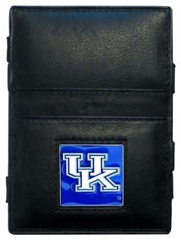 Wildcats College Leather (NCAA Kentucky Wildcats Leather Jacob's Ladder Wallet)