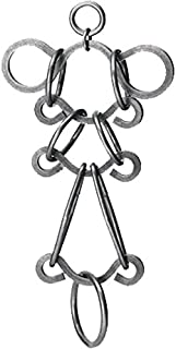 product image for BIG SHOT _ Tavern Puzzles Heavy Metal Disentanglement-Style Brain Teaser _ BONUS Twisted Nails Puzzle _ Bundled Items