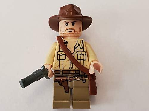 Marion Ravenwood Minifig 7195 NEW Lego Ambush in Cairo INDIANA JONES SET Fedora
