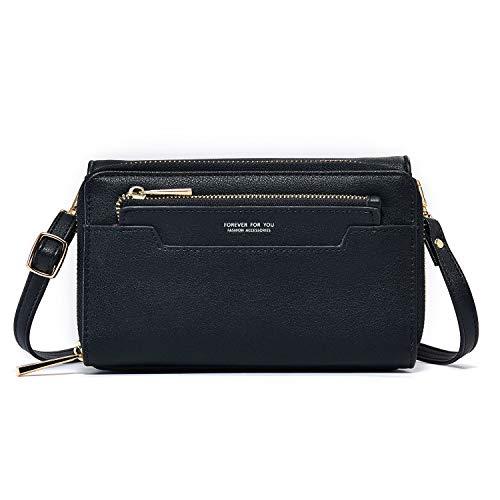 Women Small Crossbody Bags Lightweight Cellphone Purses Wallet Handbags PU Leather Shoulder Bag