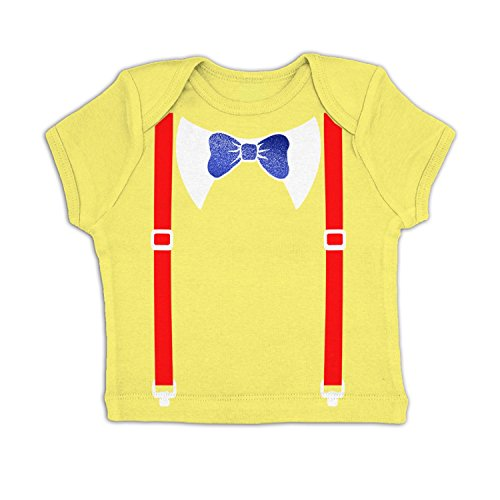 Baby Tweedle Dee Costume (Tweedle Dee And Tweedle Dum Costume Baby T-shirt - Pale Yellow 18-24 Months)