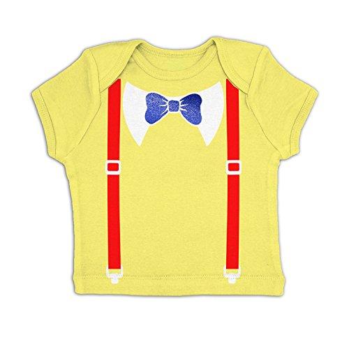 Tweedle Dee And Tweedle Dum Costume Baby T-shirt - Pale Yellow 3-6 -