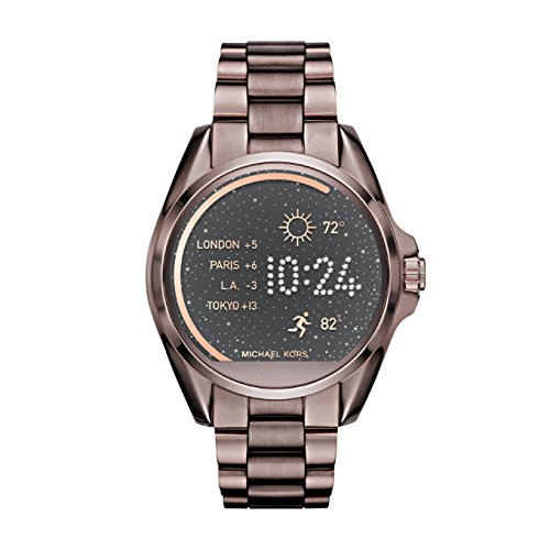 Michael Kors Access, Women's Smartwatch, Bradshaw Sable-Tone Stainless Steel, MKT5007 (Android Mens Silver Jet)