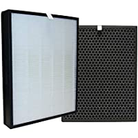 Compatible Set Philips AC3256 NanoProtect 3000 Series True HEPA + CARBON Set Filter of Air Purifier