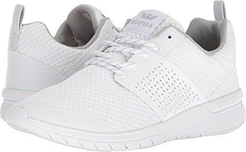 Supra Uomo Sneaker Scissor White-white Fechas De Lanzamiento Auténtica Ooa5K
