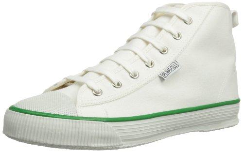 Plimsoll Scarpe a Hi Uomo Blanc alto Blanc Bianco collo HHwCr6q