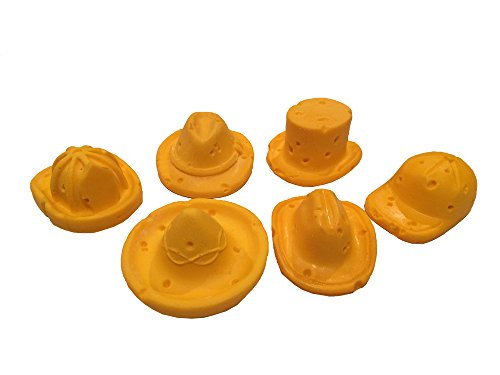 (CHEESEHEAD ASSORTED MAGNETS PACK OF 6)