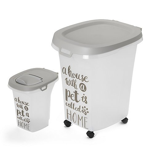 Moderna AF50-0330 Food & Litter Storage Container Pet Wisdom Theme by Moderna Products