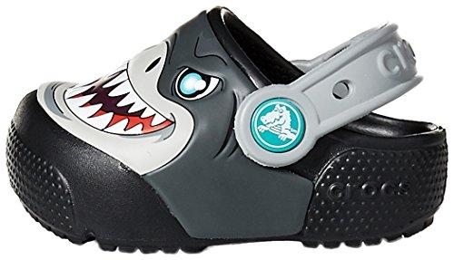 Crocs Baby Kids' Fun Lab Light-Up Clog, Black, 9 M US Toddler by Crocs (Image #5)