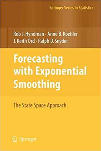 Forecasting with Exponential Smoothing: The State Space