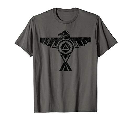 Thunderbird Tribal T-Shirt Native American Indian Shirt