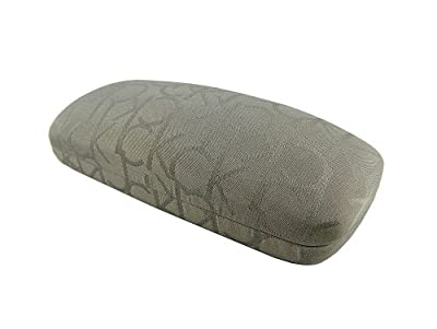 New CK Calvin Klein Hard Clam Shell Eyeglasses Sunglasses Case - Grey #2