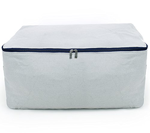 Canvas Household Jumbo Collapsible Storage Bag Blanket