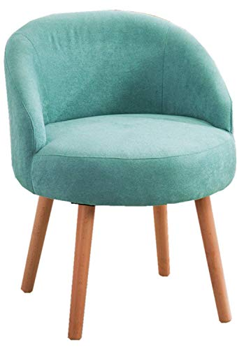 Modern Candy Blue Leisure Arm Chairs Single Couch Seat Home Garden Living Dining Room Furniture Sofa with Solid Wood Legs from DUSTIN'S