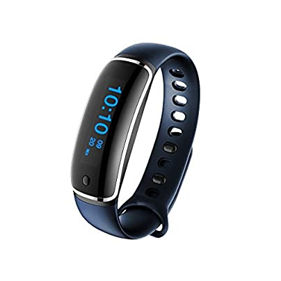 Doolland Heart Rate Monitor Smart Wristband for Android iOS Smart Bracelet Fitness Tracker Heart Rate Monitor Waterproof Pedometer Bracelet Estimated Price -
