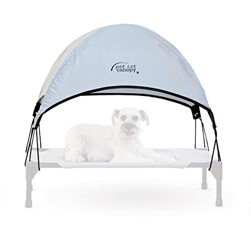 K&H Pet Products Pet Cot Canopy Medium Gray 25