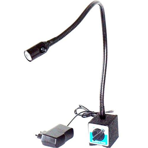 Led Work Light Gooseneck: Magnetic Work Light 1 WATT LED Spot Light 30D Beam Angle