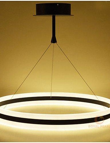DXZMBDM® 100W Zeitgenössisch LED Andere Acryl PendelleuchtenWohnzimmer / Schlafzimmer / Esszimmer / Studierzimmer/Büro / Kinderzimmer / Spielraum , white-90-240v