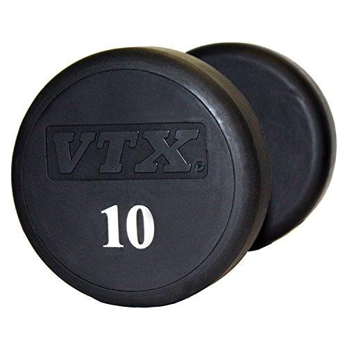 Troy VTX Round Urethane Dumbbell (Pair)