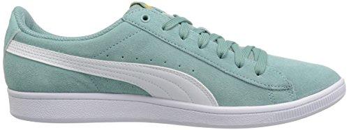 PUMA Frauen Vikky Sneaker Aquifer-Puma weiß