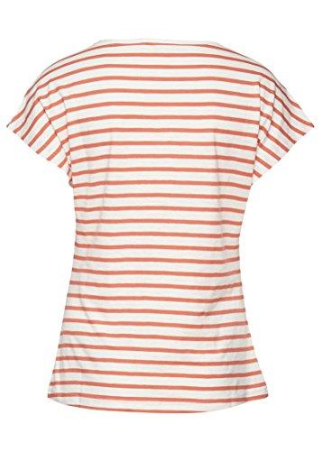 Fransa Damen T-Shirt orange Hot Coral Mix Einheitsgröße