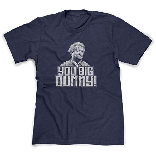 FreshRags Sanford and Son You Big Dummy Men's T-Shirt Heather Navy 2X