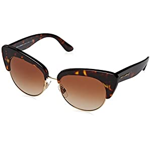 Dolce & Gabbana Women's 0DG4277 Havana/Brown Gradient Sunglasses