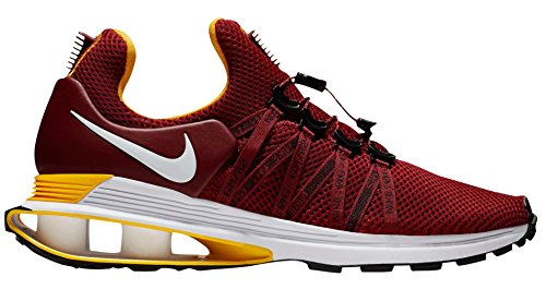 NIKE Mens Shox Gravity Shoes (9, Red/White) (Sneaker Shox Shoe)