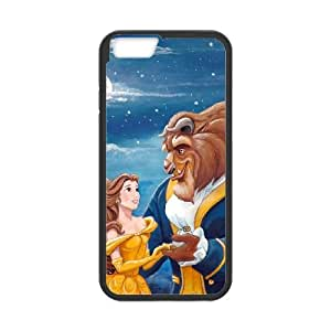 Disneys Beauty and the Beast iPhone 6 4.7 Inch Cell Phone Case Black Exquisite gift (SA_622182)