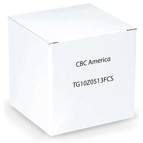 Dc Iris Drive - Computar TG10Z0513FCS 0.33-Inch Varifocal lens 5-50mm F1.3 Auto Iris DC Drive