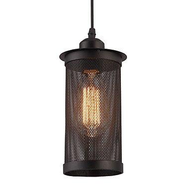 Lampade a sospensione in metallo nero vintage, lampadario stile ...