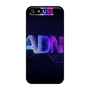 Shock Absorbent Cell-phone Hard Cover For Iphone 5/5s With Allow Personal Design High-definition Muse Series KevinCormack