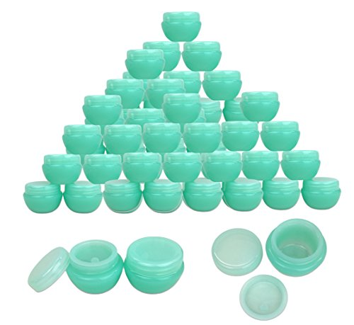 Beauticom 10G/10ML Frosted Container Jars with Inner Liner f