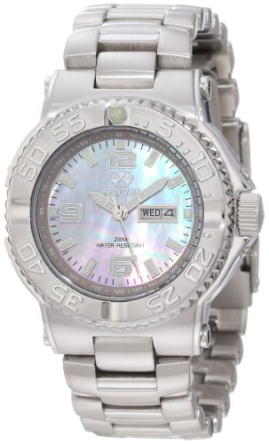 Mother Womans Watch Pearl Of (REACTOR Women's 77017 Classic Analog Mother-Of-Pearl Dial Watch)
