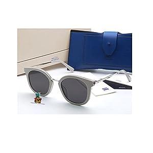 Fashion New Gentle V brand man monste GM DIM Sunglasses Eyeglasses -white black