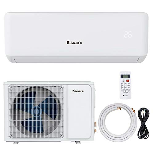 Klimaire KSIA 17 SEER 9,000 BTU Ductless Mini-Split Inverter