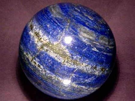 Spiritual Elementz Reiki Healing Lapislázuli - Esfera con Piedras Preciosas (40-50 mm)