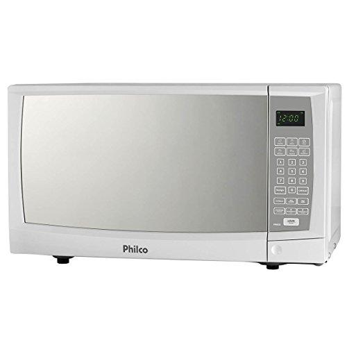 Micro-ondas Philco 20 Litros Branco Porta Espelhado - PME22- 110V