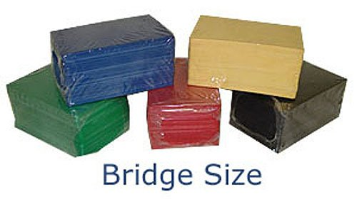 100 CUT CARDS BRIDGE SIZE (NARROW) GREAT FOR BLACKJACK POKER OR CARD GAMES by Spinettis