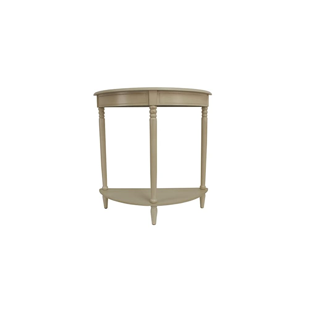 Décor Therapy Accent Table, Antique White